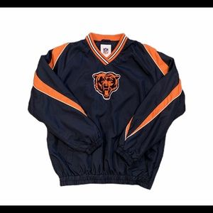 Chicago Bears Authentic NFL Pullover/Windbreaker M